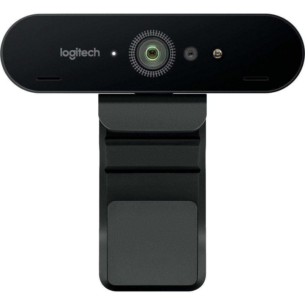 Logitech BRIO 4K Stream Edition-4K webcam  HDR technologie  Geïntegreerde XSplit-oplossing  Geoptimaliseerd voor streaming  1080p/60fps in HD