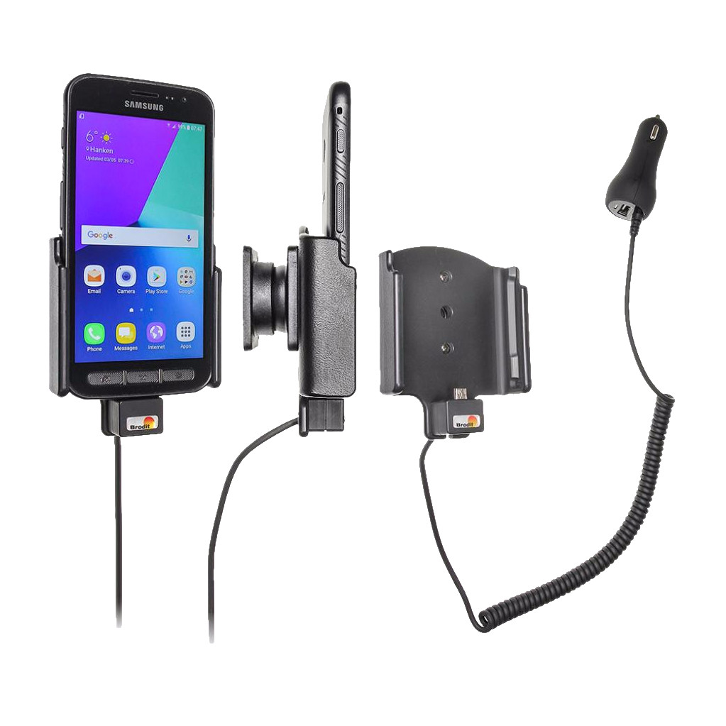 Tweedekans Brodit Houder Samsung Galaxy Xcover 4 met oplader