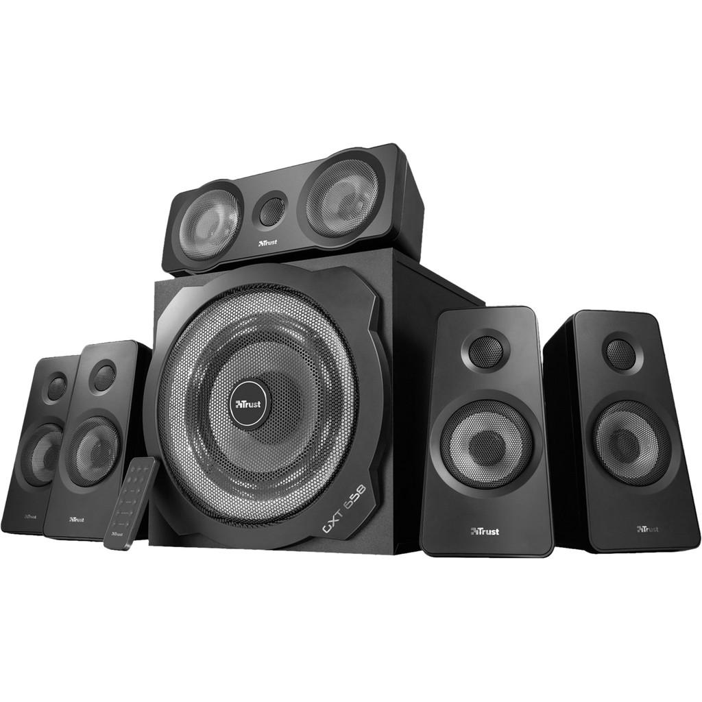 Tweedekans Trust GXT 658 Tytan 5.1 Surround Pc Speaker System Tweedehands