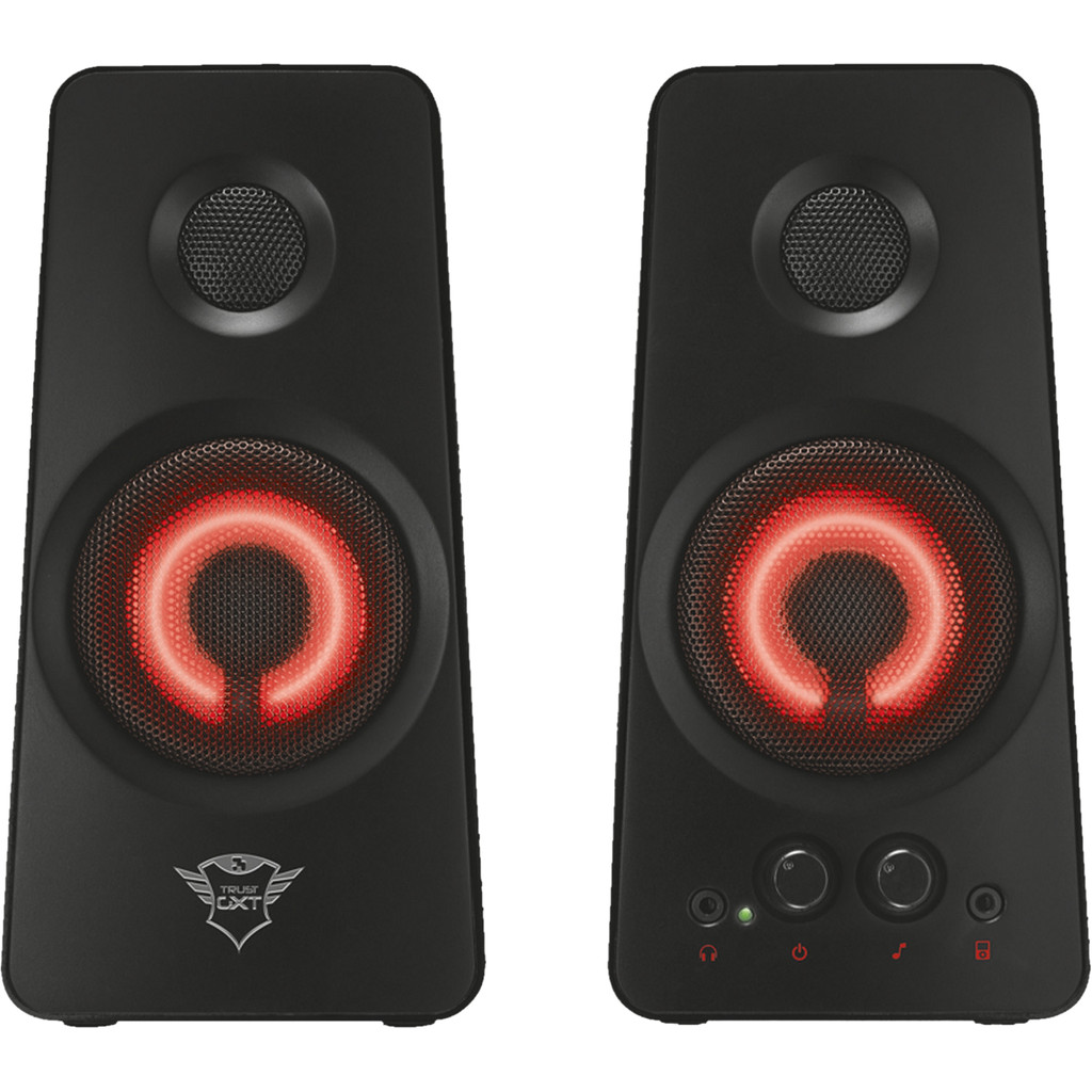 Trust GXT 608 Illuminated 2.0 Pc Speaker Set