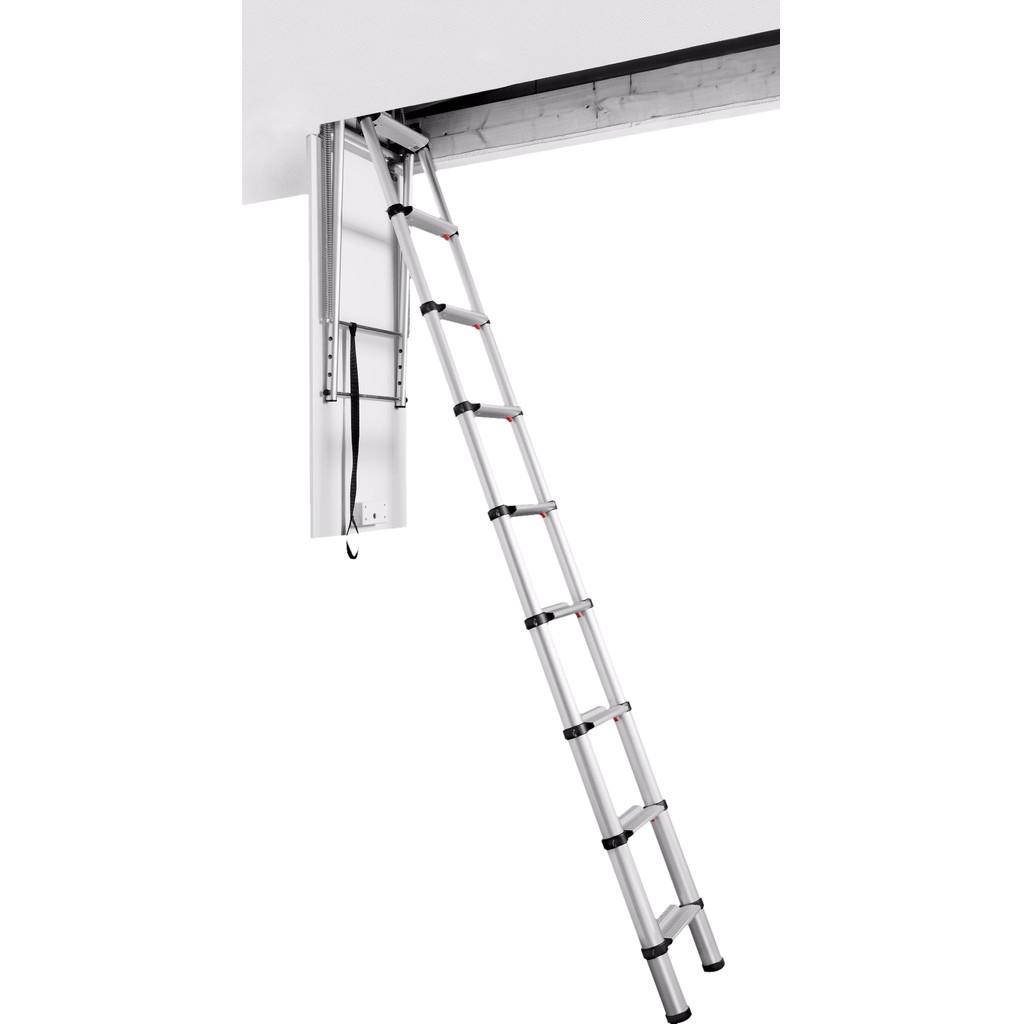 Telesteps Black Line Loft Ladder 2,5-3 m