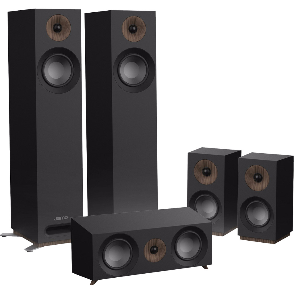 Afbeelding van de Jamo S 805 HCS Surround Set Zwart