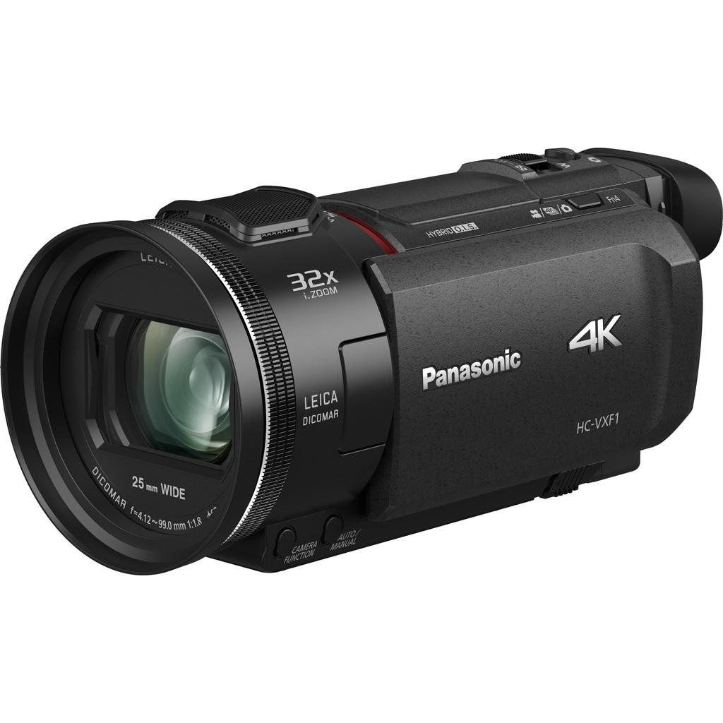 Panasonic HC-VXF1-4K-kwaliteit  8.57 megapixel BSI MOS sensor  24x optische zoom  Optische beeldstabilisatie   Wifi