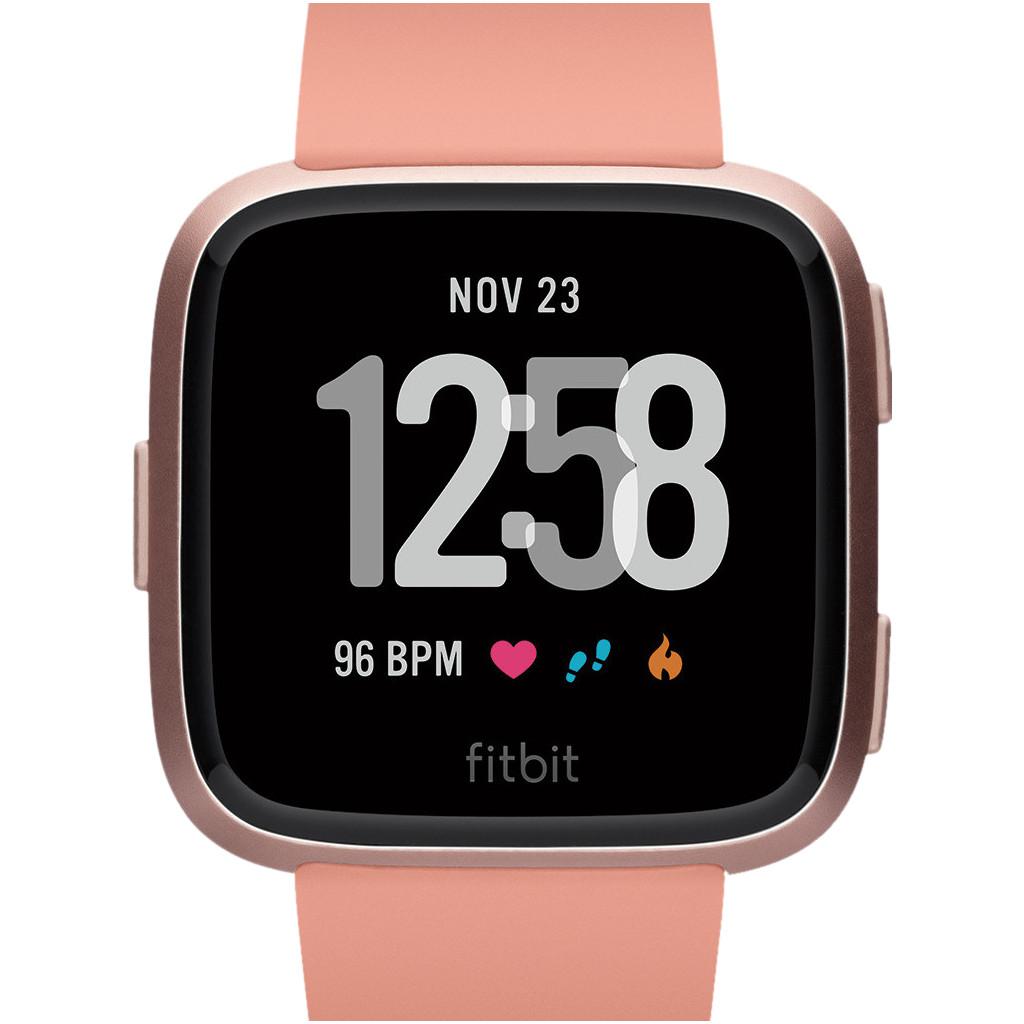 Fitbit Versa Peach/Rose Gold Aluminum