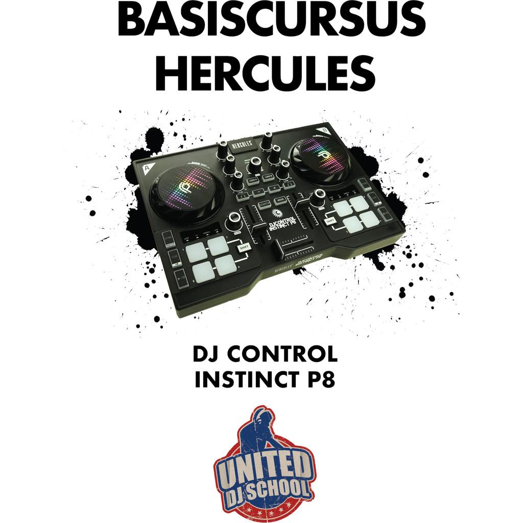 United DJ School Hercules Instinct P8 DJ Cursus