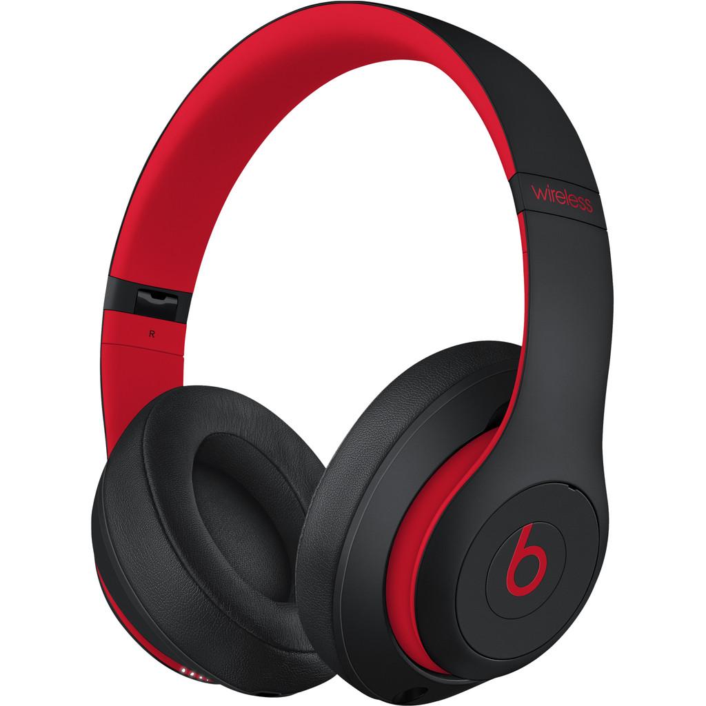 Tweedekans Beats Studio3 Wireless Zwart/Rood Tweedehands