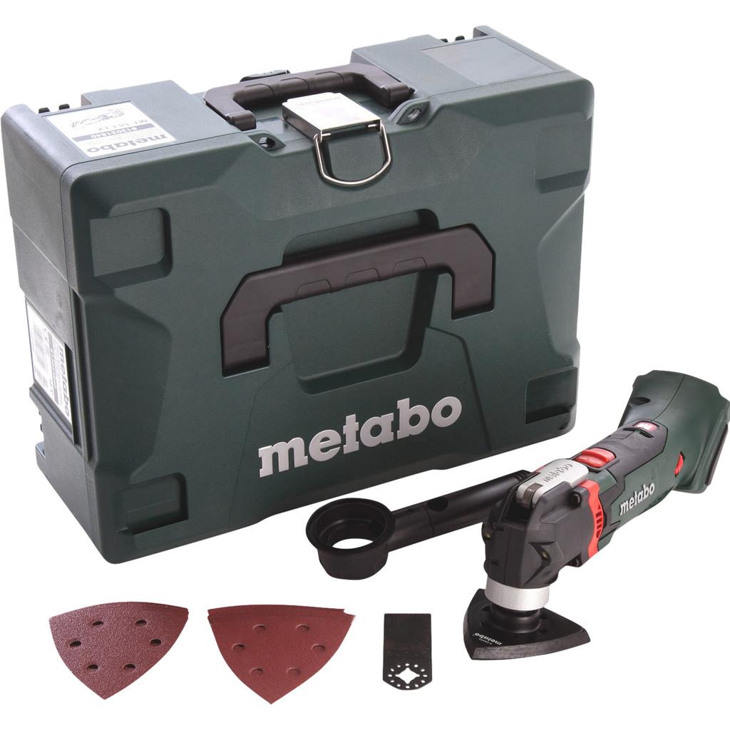 Metabo mt 18 ltx body in metaloc + toebehorenset