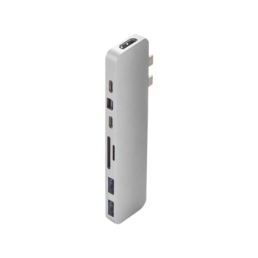 Tweedekans Hyper Pro USB C 8 In 2 Docking Station Silver