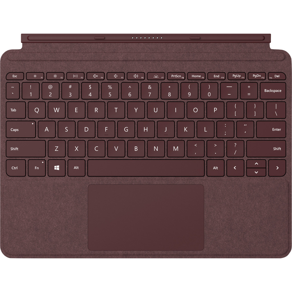 Tweedekans Microsoft Surface Go Type Cover QWERTY Rood