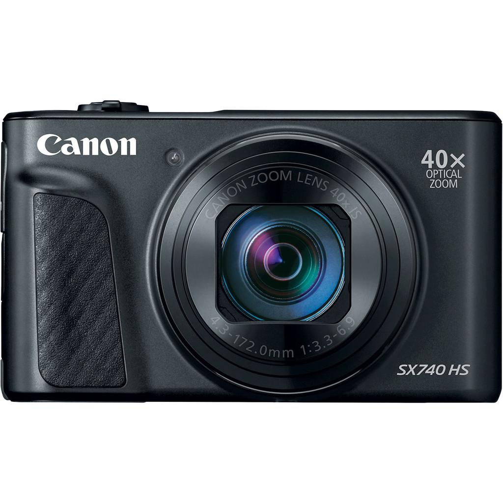 Canon PowerShot SX740 HS Zwart-20,3 megapixel CMOS-sensor  40x optische zoom  Wifi, geen NFC en bluetooth  4K videofunctie  Maximaal diafragma f/3,5
