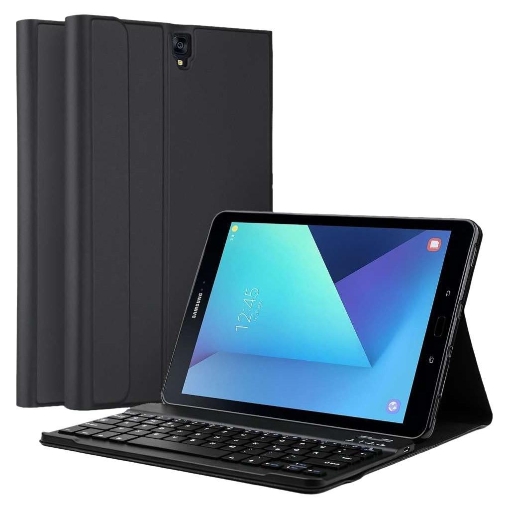 Tweedekans Just in Case Premium Samsung Galaxy Tab S3 Book Case Zwart QWERTY