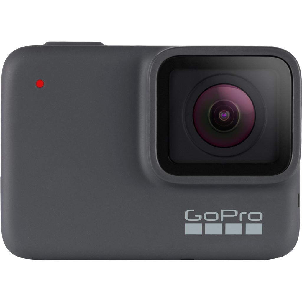 GoPro HERO 7 Silver-4K met 30 frames per seconde  10 megapixel foto's  Waterdicht tot 10 meter  Beeldstabilisatie