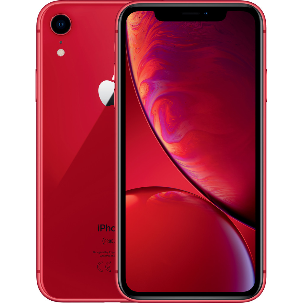 iPhone XR 128GB Rood (2018)
