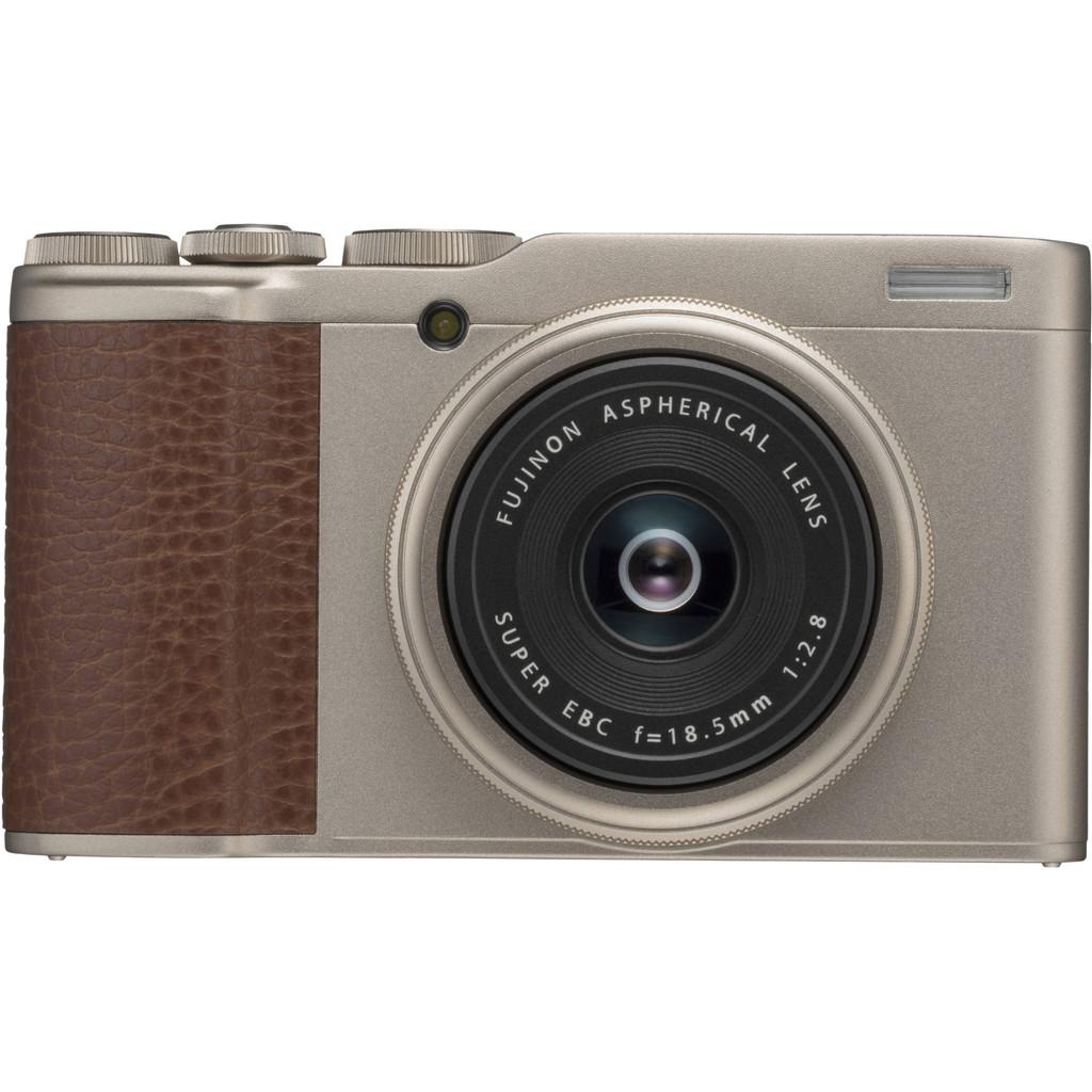 Fujifilm XF10 Goud-24,2 megapixel CMOS sensor  Wifi en bluetooth  4K videoresolutie   Maximaal diafragma f/2.8
