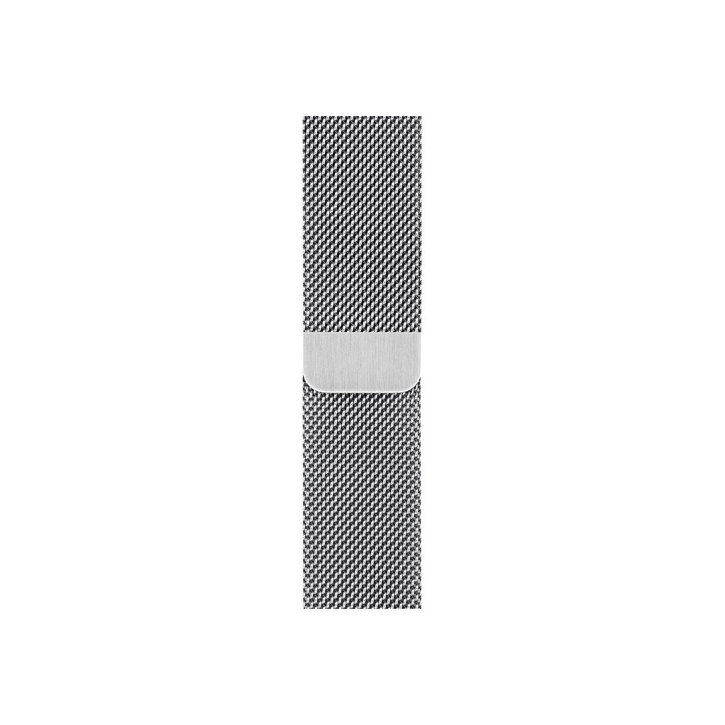 Tweedekans Apple Watch 42/44 mm Polsband Milanees Zilver