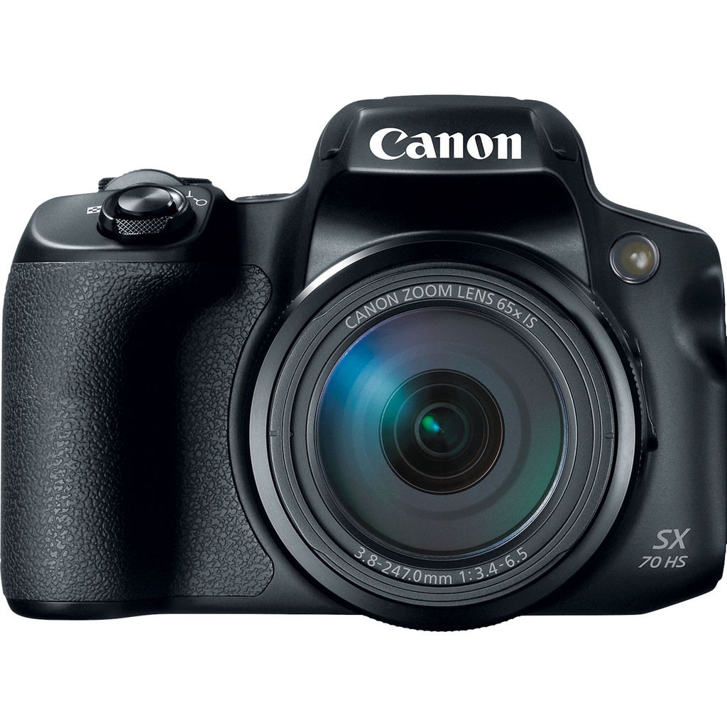 Canon PowerShot SX70 HS-20,3 megapixel   65x optische zoom  Wifi en bluetooth  4K videoresolutie