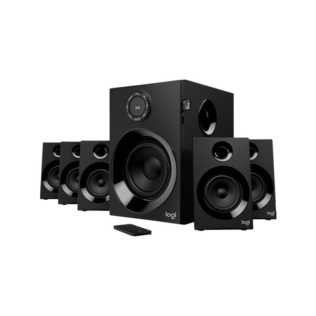 Logitech Z607 5.1 Surround Sound System Pc Speaker Bluetooth