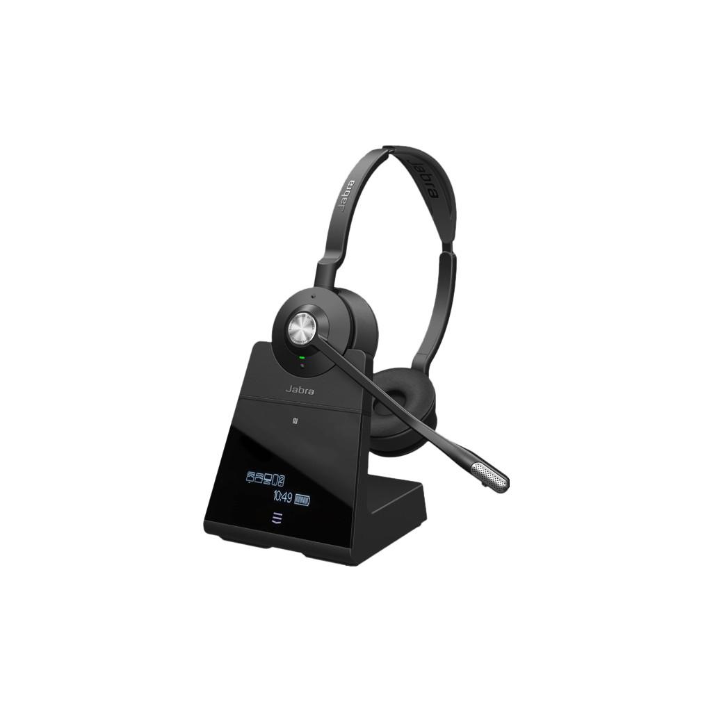 Jabra Engage 75 Stereo Stereofonisch Hoofdband Zwart hoofdtelefoon