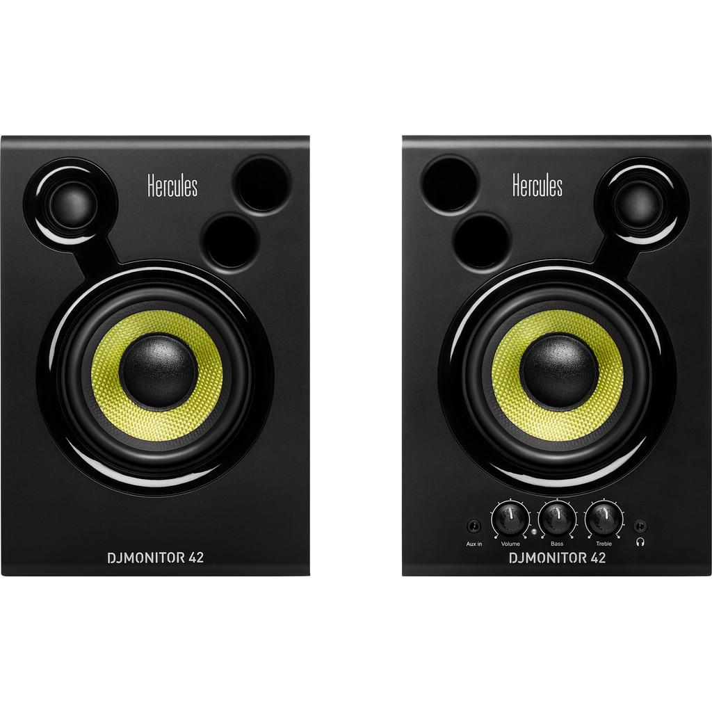 Actieve studio monitor 10 cm 4 inch Hercules DJMonitor 42 40 W 1 paar