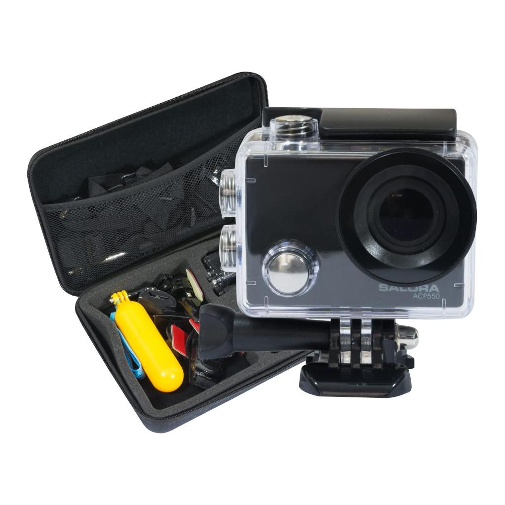 Salora ACP550-4K met 30 frames per seconde  16 megapixel foto's  Met waterdichte behuizing