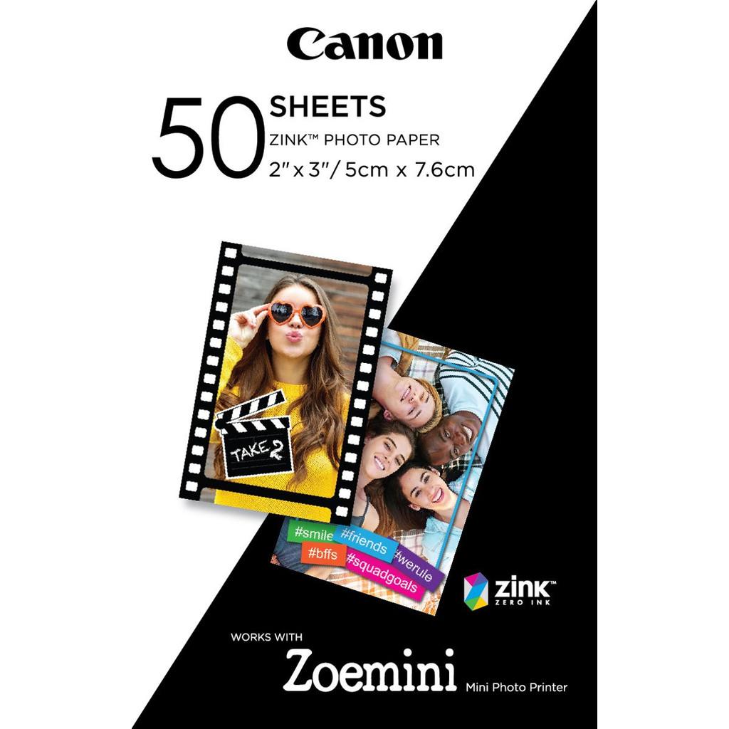 Canon ZINK Fotopapier (50 vellen)