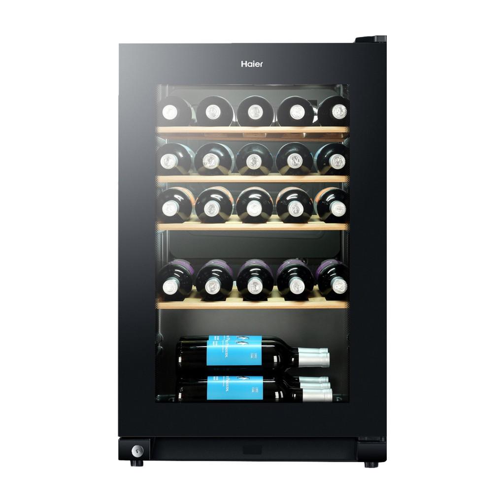 Haier WS30GA wijnkoeler Vrijstaand Zwart 30 fles(sen) Compressorwijnkoeler A