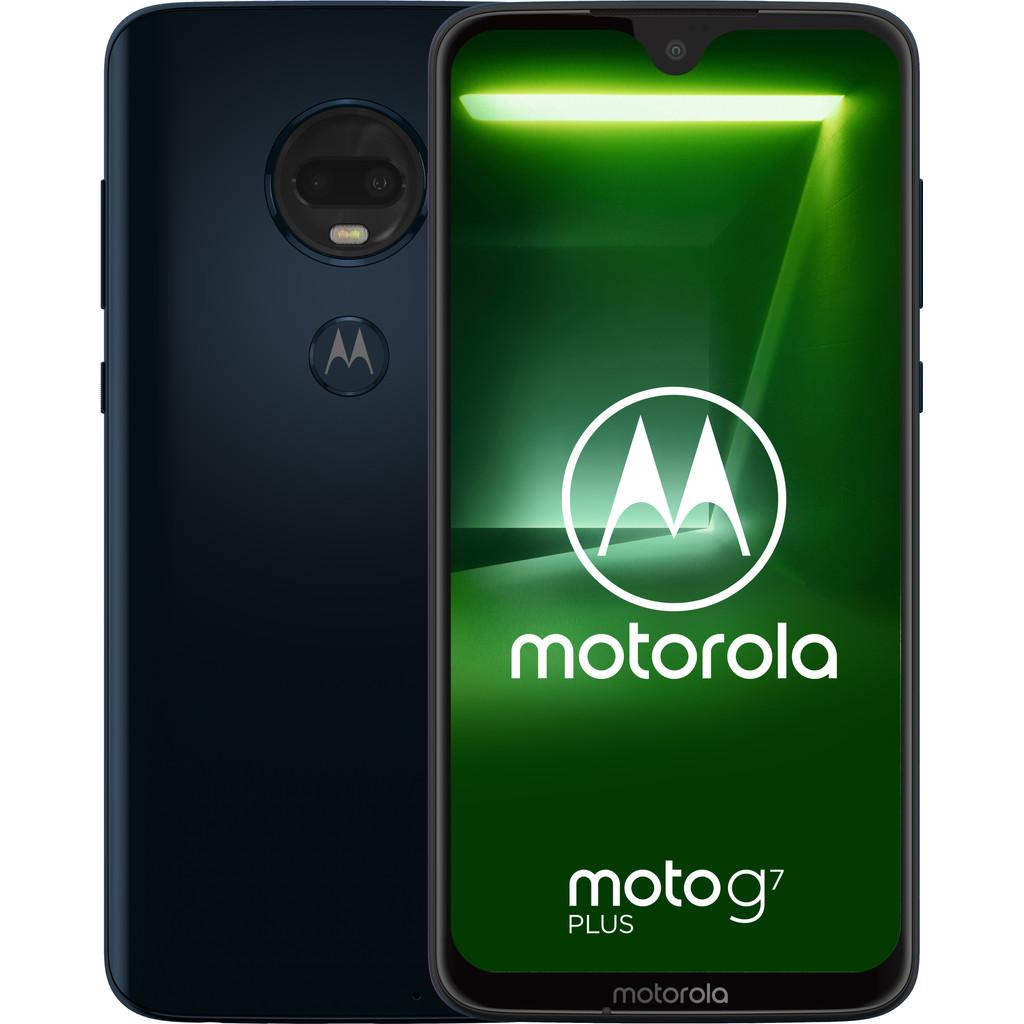 MOTOROLA Moto G7 Plus 64GB Dual-sim Blauw