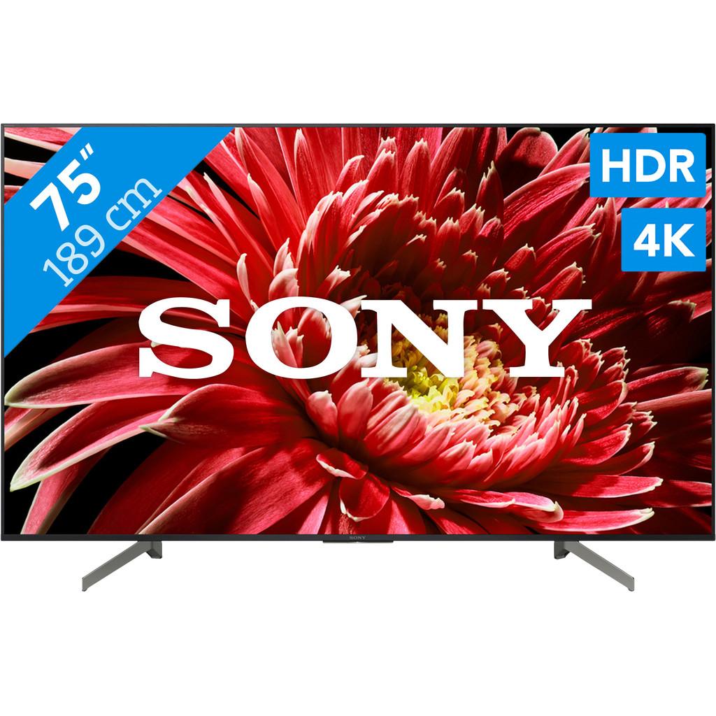 Sony KD-75XG8596-4K (UHD), UHD premium  Smart tv: Android  100 Hertz