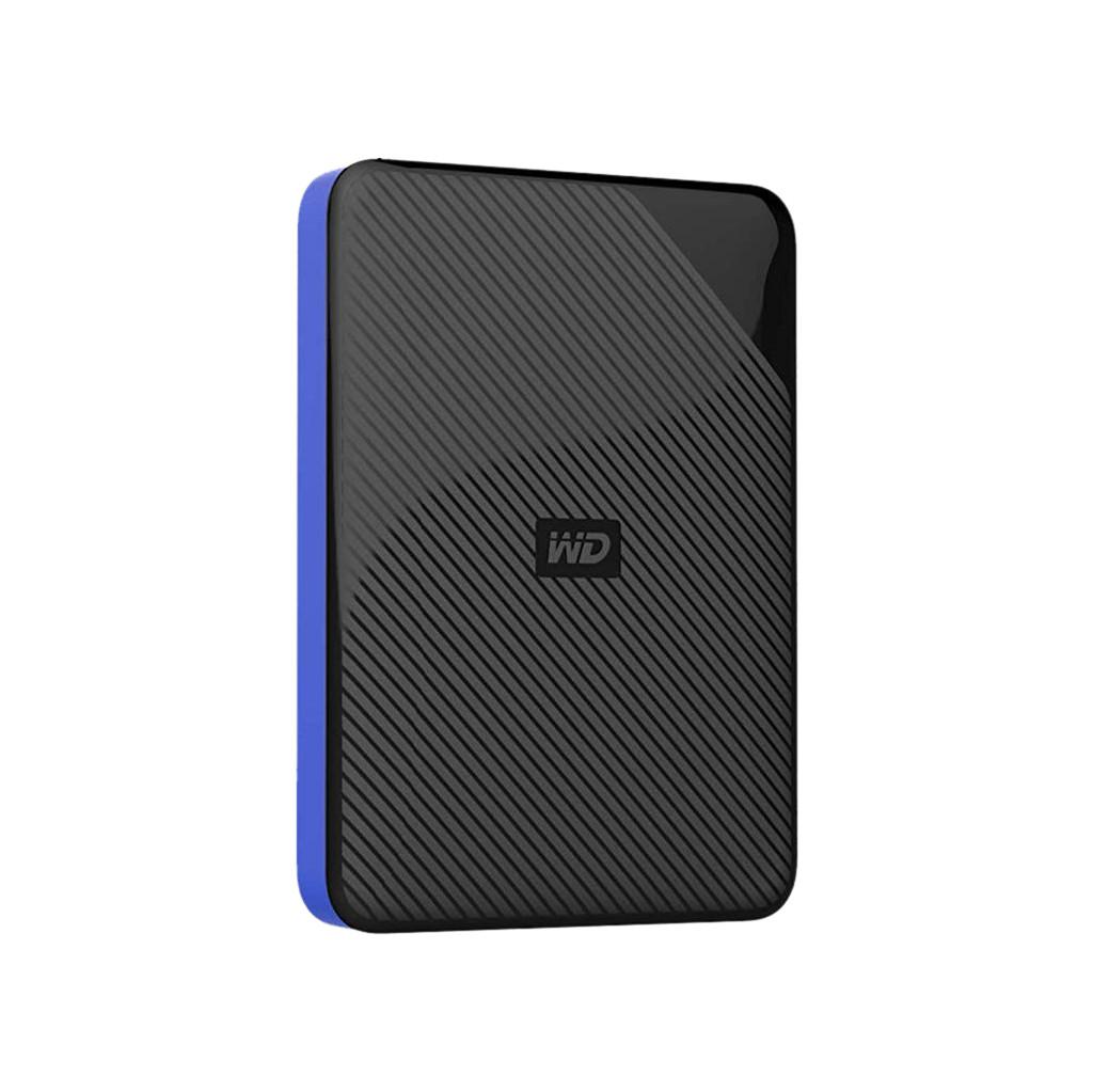 Western Digital Gaming 4 TB Externe harde schijf (2.5 inch) USB-C USB 3.1 Zwart-blauw