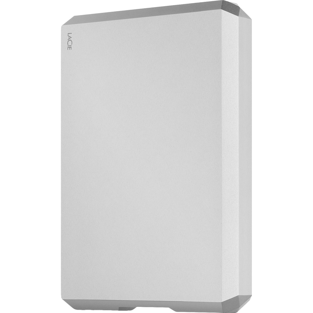 LaCie 2.5IN USB3.1 TYPE-C MOON SILVER IN externe harde schijf 5000 GB