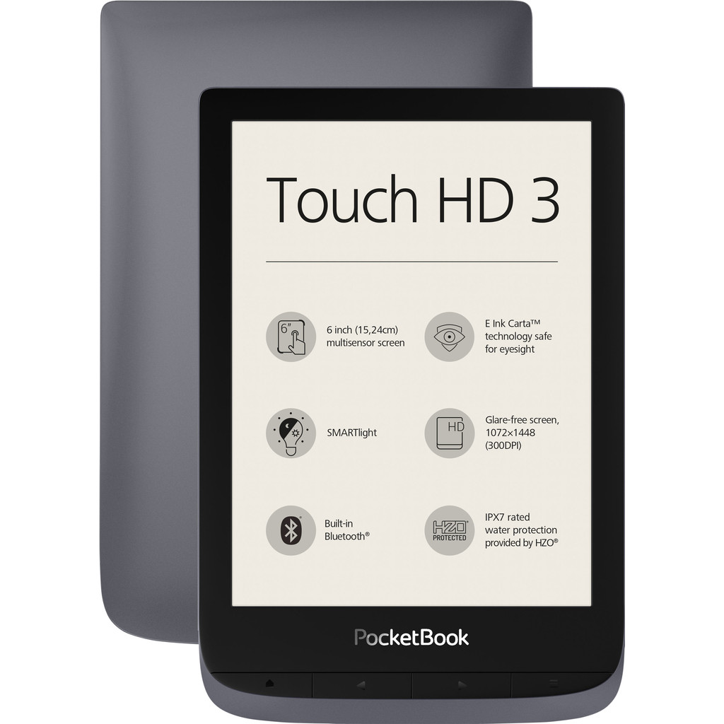 Tweedekans Pocketbook Touch HD 3 Grijs