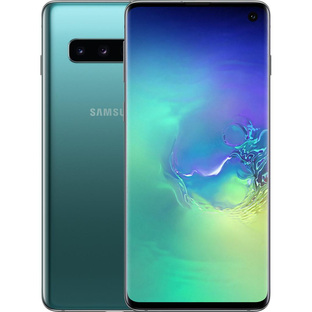 Samsung Galaxy S10 128GB Groen-128 GB opslagcapaciteit  6,1 inch Quad HD scherm   Android 9.0 Pie
