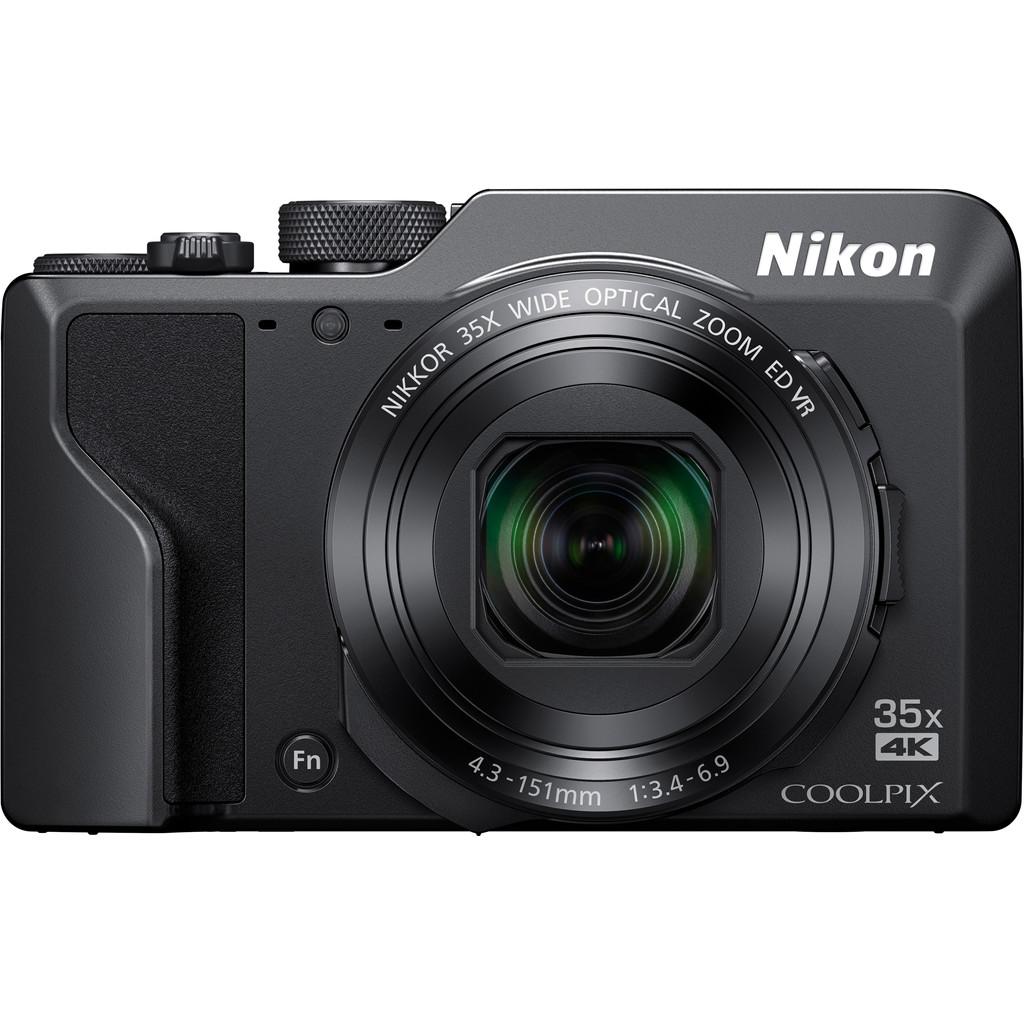 Nikon Coolpix A1000 Zwart-Effectief aantal megapixels: 16 MP  Optische zoom: 35  Beeldstabilisatie: Ja