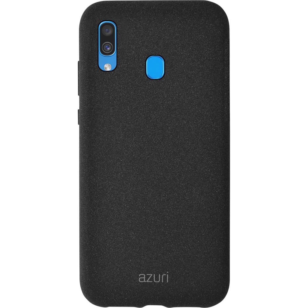 Azuri Flexible Sand Samsung Galaxy A40 Back Cover Zwart
