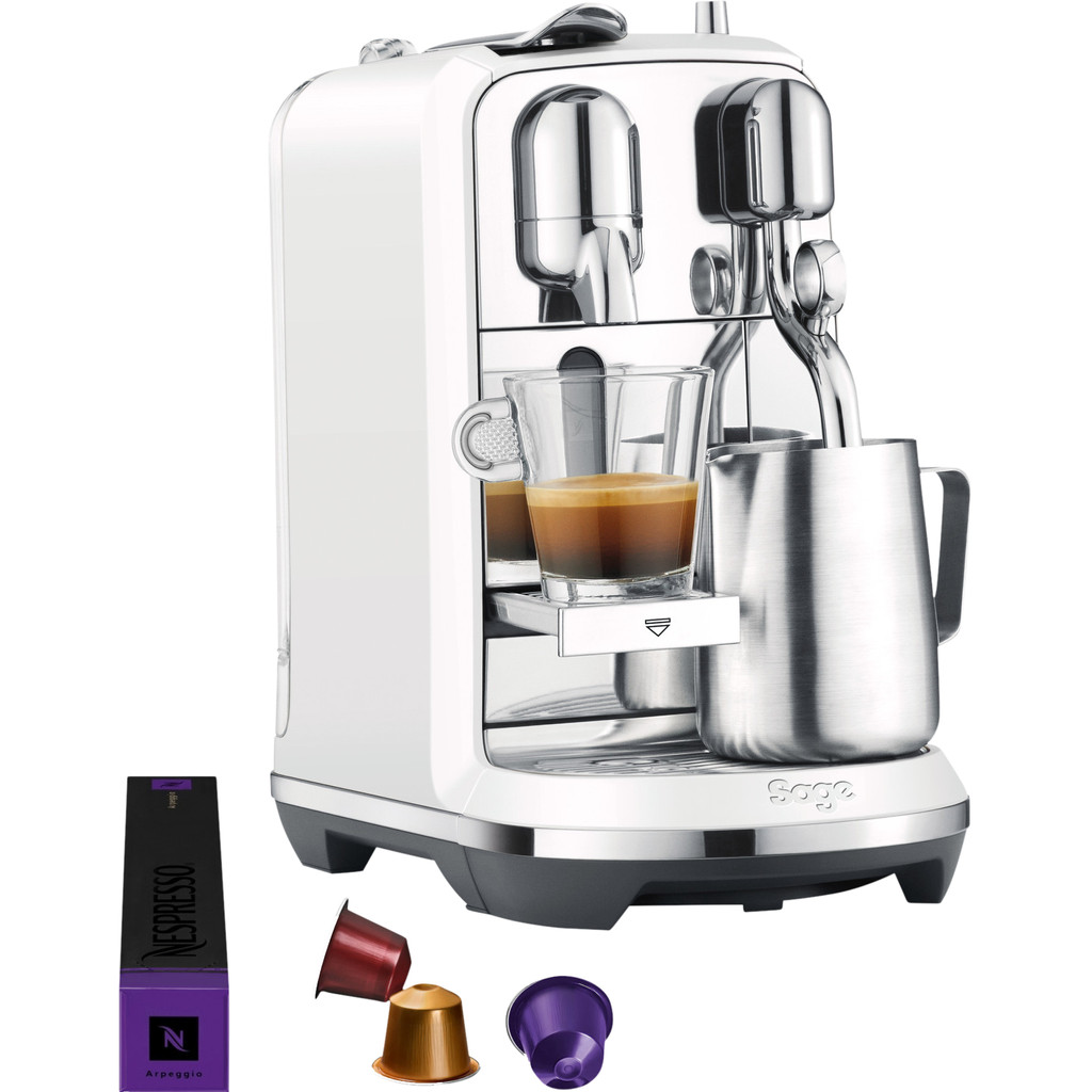 Sage nespresso CREATISTA PLUS SEA SALT