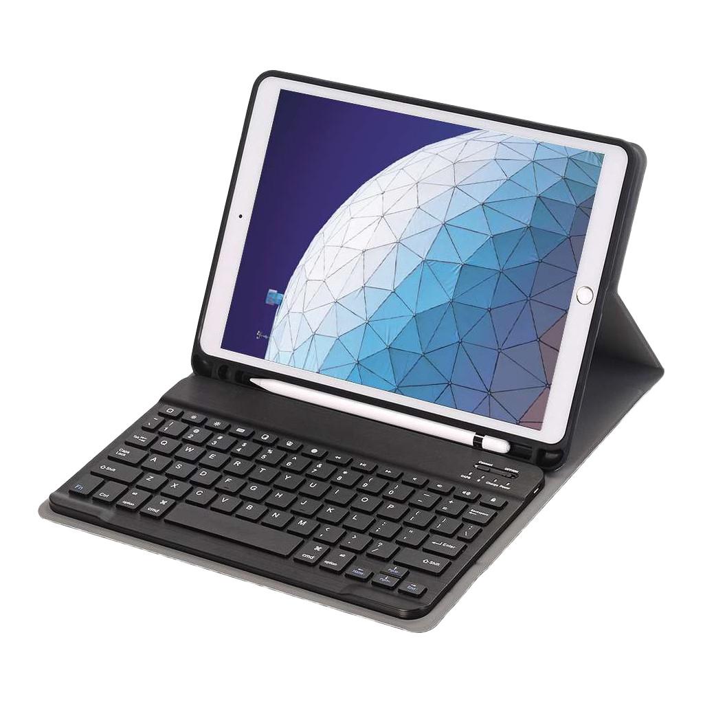 Tweedekans Just in Case Premium Apple iPad Air (2019) Bluetooth Toetsenbord Hoes Zwart QWERTY