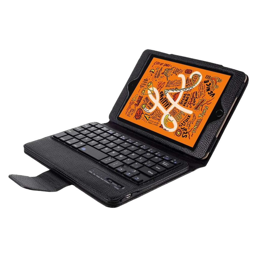 Just in Case Apple iPad Mini 5 Bluetooth Toetsenbord Hoes Zwart QWERTY
