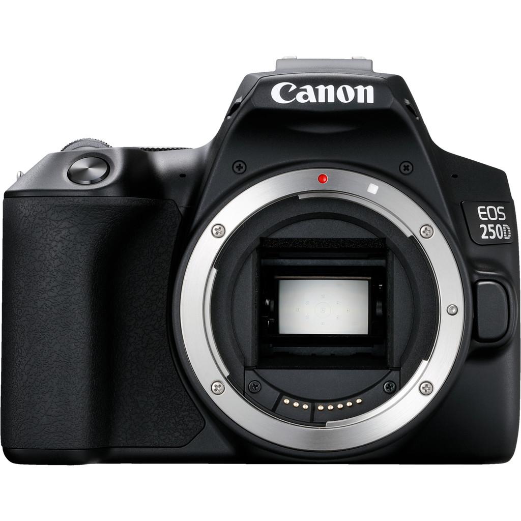 Canon EOS 250D Body-24,1 megapixels, filmt in Full HD 1080p  Met wifi, bluetooth en NFC  Camerabody zonder lens