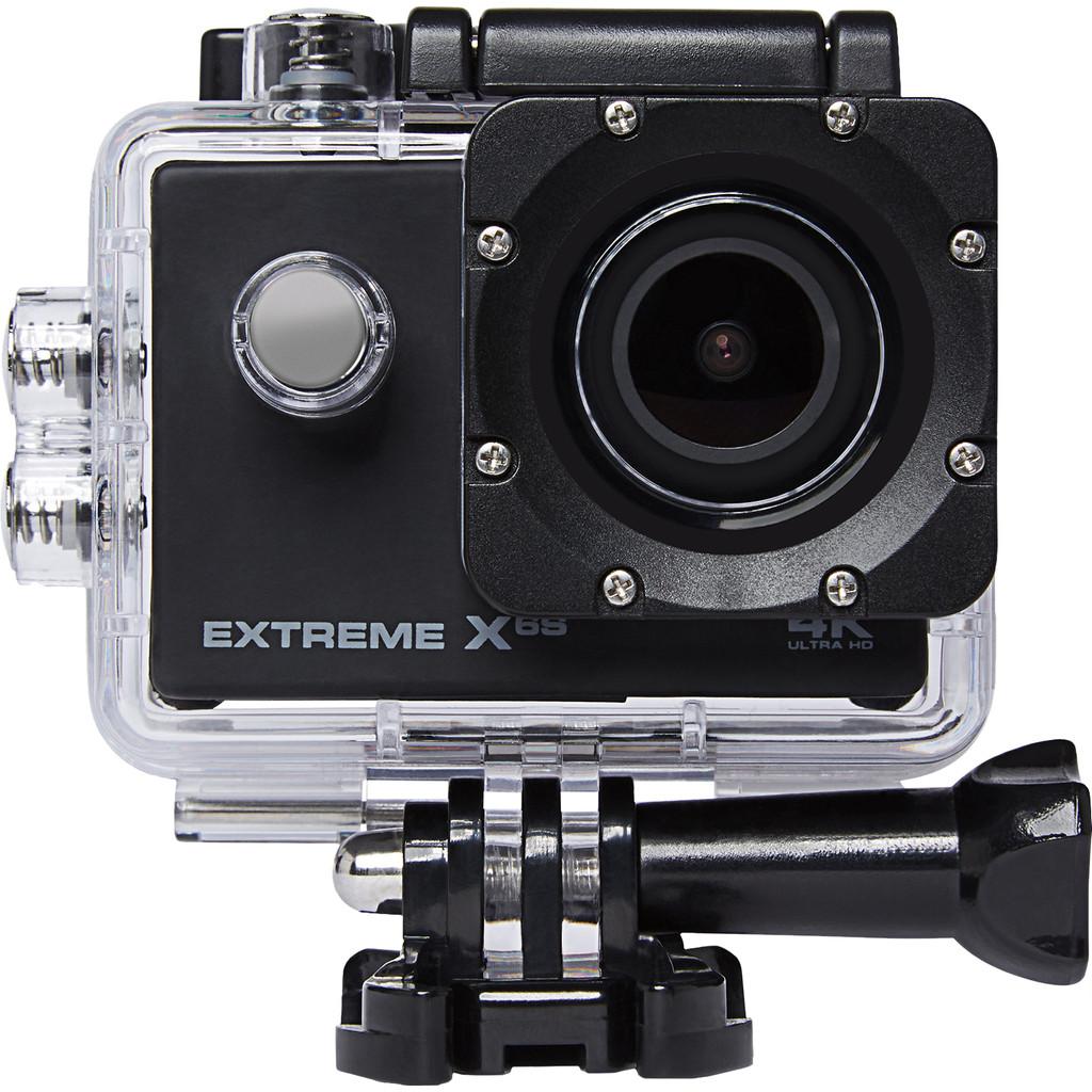 Vizu Extreme X6S-4K ultra hd met 15 frames per seconde  16 megapixel foto's  Met bevestigingsmateriaal