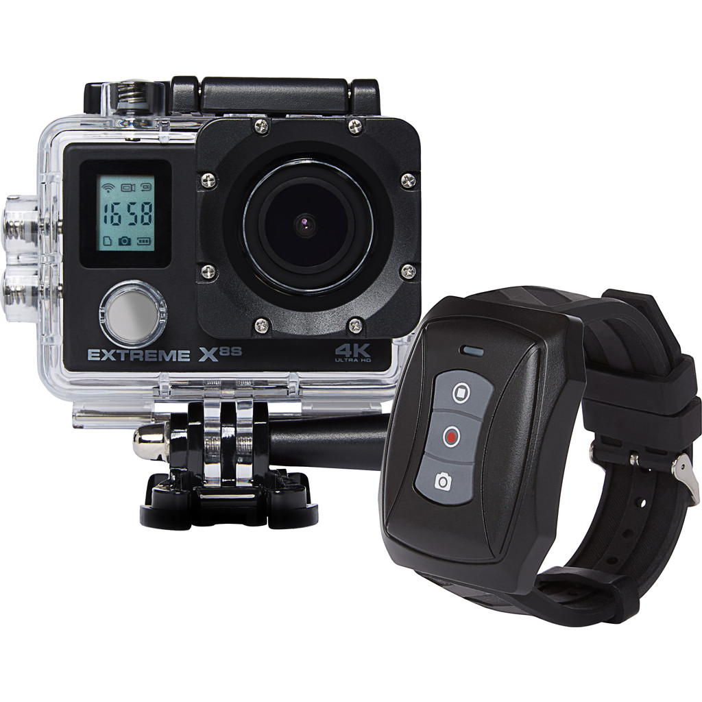 Vizu Extreme X8S Wi-Fi 4K action camera incl. afstandsbediening