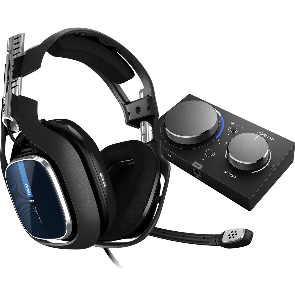 Tweedekans Astro A40 TR Zwart + MixAmp Pro TR PS4