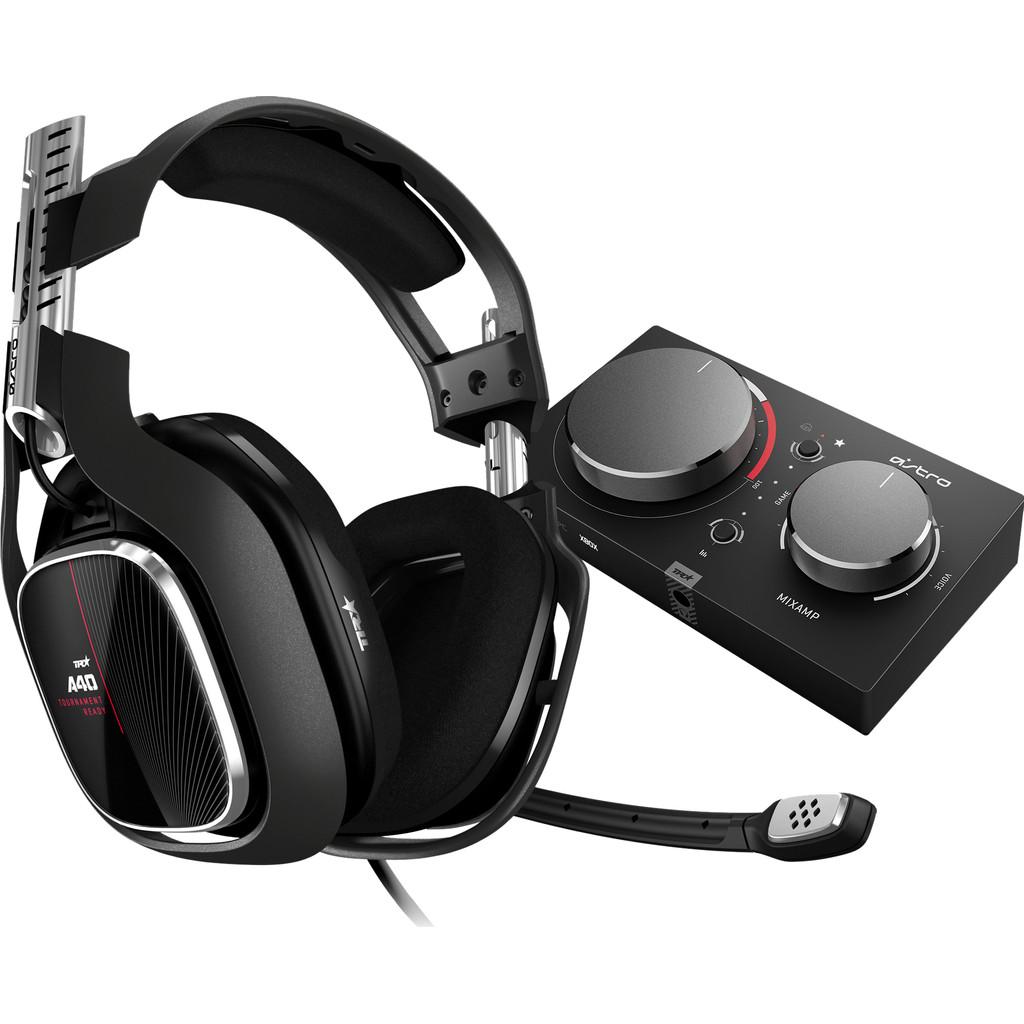 Tweedekans Astro A40 TR Gaming Headset + MixAmp Pro TR Xbox Series X/S en Xbox One - Zwart
