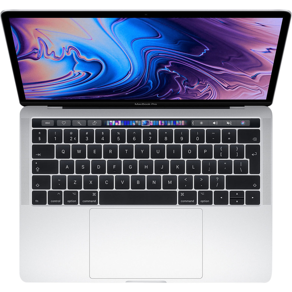 MacBook Pro TouchBar 13-inch 2.4GHz 8GB 256GB Zilver