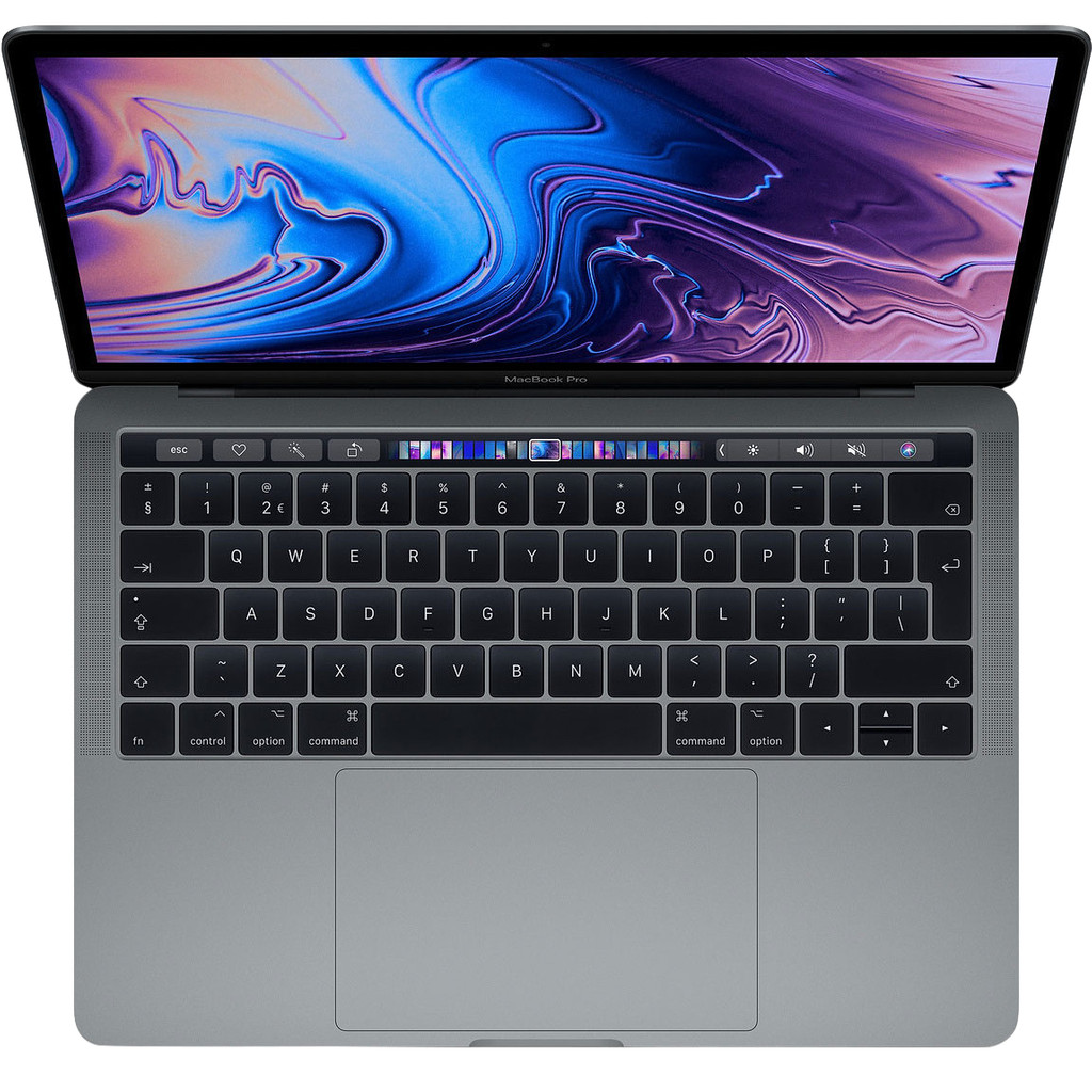 Apple MacBook Pro 13 Touch Bar (2019) 16GB-2TB 2,4GHz Space Gray