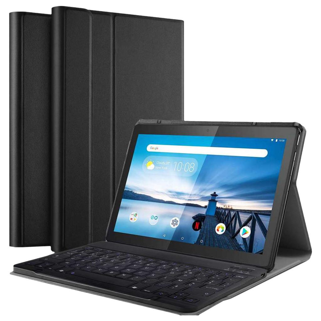 Tweedekans Just in Case Premium Bluetooth Lenovo Tab M10 Toetsenbord Hoes Zwart QWERTY