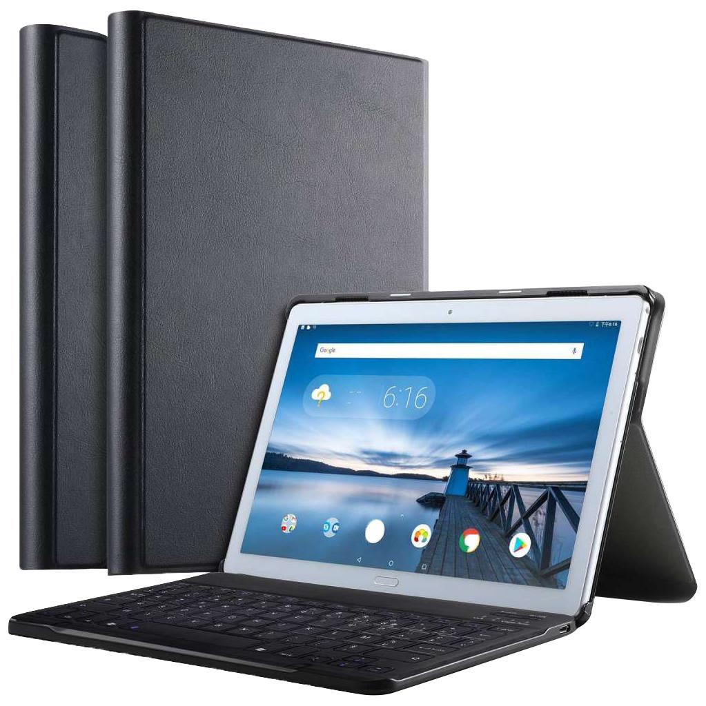 Tweedekans Just in Case Premium Bluetooth Lenovo Tab P10 Toetsenbord Hoes Zwart QWERTY