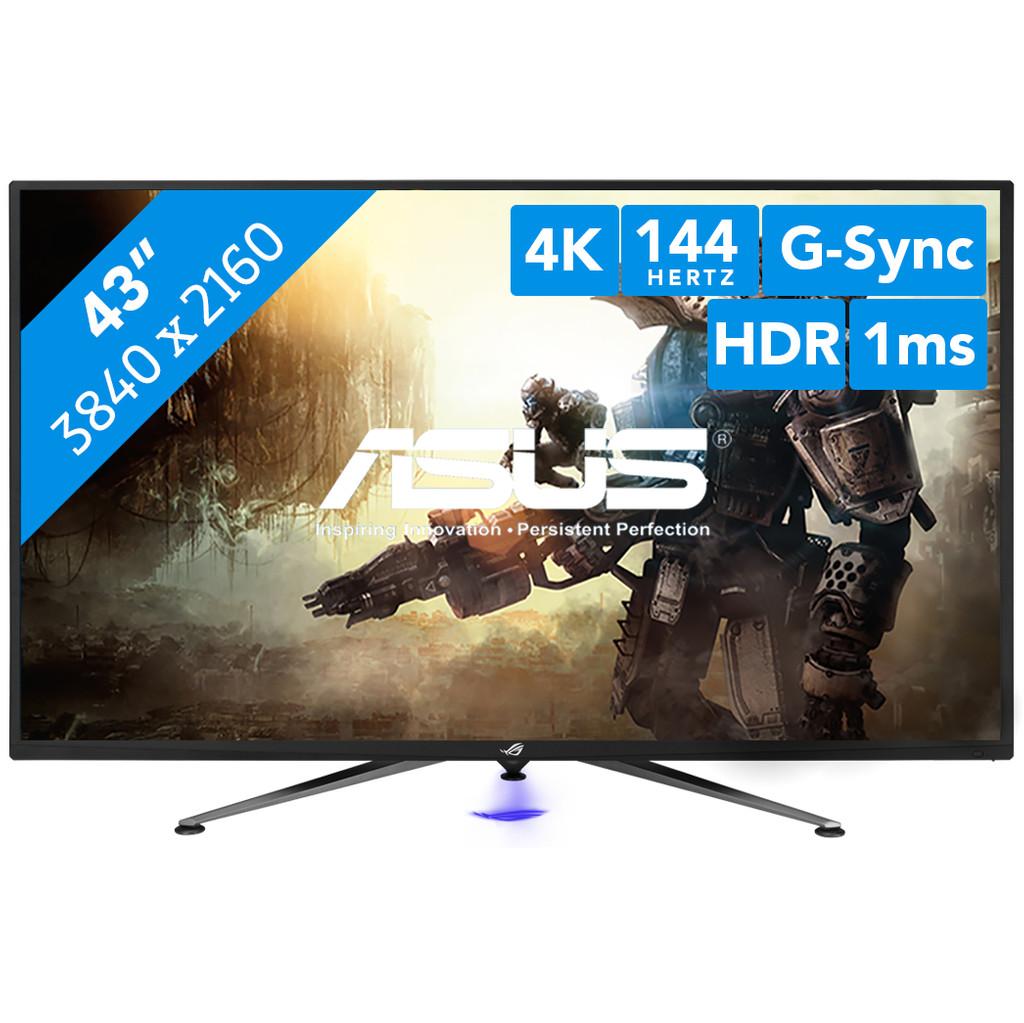 ASUS ROG Swift PG43UQ-43 inch  3840 x 2160 resolutie  Displayport, hdmi, usb a, hoofdtelefoon