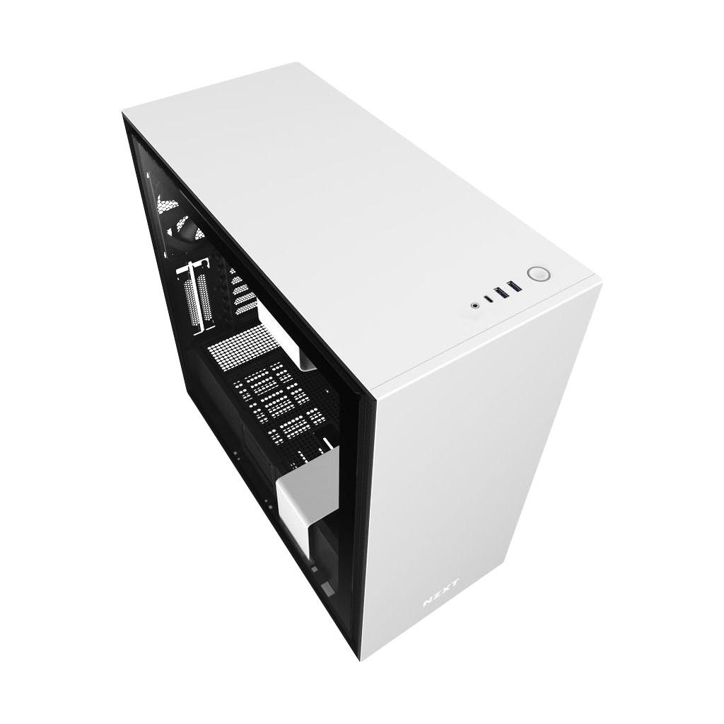 Tweedekans NZXT H710 Wit/Zwart