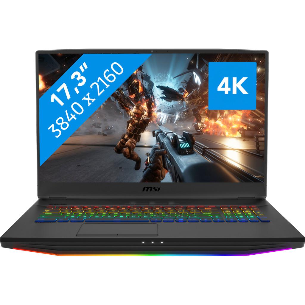 MSI GT76 Titan DT 9SF-033NL-Krachtig genoeg voor gaming & VR  Intel Core i7 - 32GB RAM - 2x 512GB SSD + 1TB HDD   NVIDIA GeForce RTX 2070 videokaart
