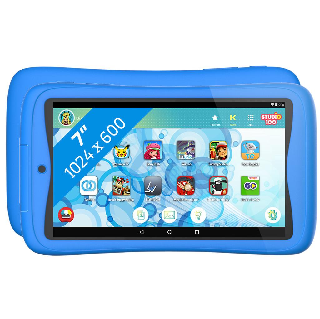 Tweedekans Kurio Tab Connect Studio 100 7 inch 16 GB Wifi Blauw